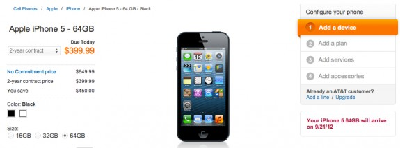 iPhone 5 pre-orders were a nightmare for many last year.