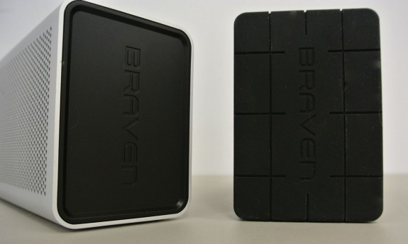 Braven 850 and 855s side view
