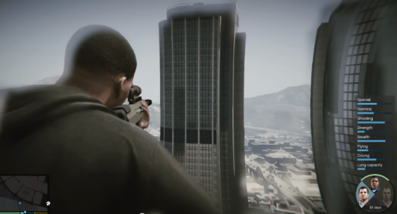 GTA 5 on PS4 is not confirmed yet as a tweet from Sony earlier this week is a typo.