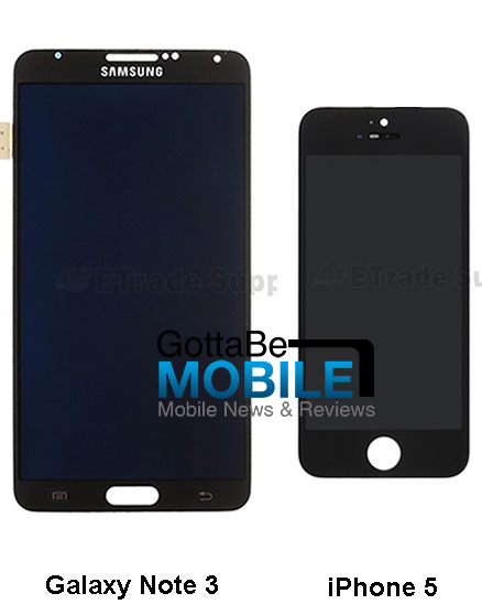 Galaxy-Note-3-vs-iPhone-5-iPhone-5S