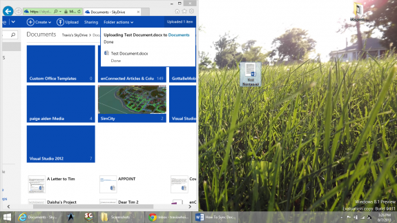 How To Sync Documents to Windows Phone Using SkyDrive 4