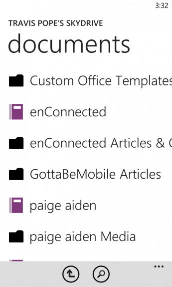 How To Sync Documents to Windows Phone Using SkyDrive 8