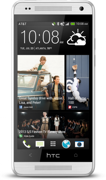 The AT&T HTC One mini arrives on August 23rd.