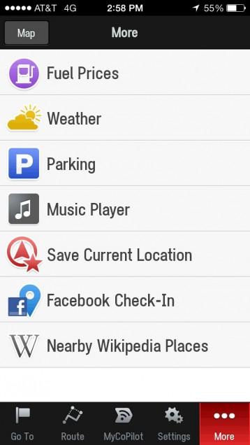 CoPilot Live GPS searching