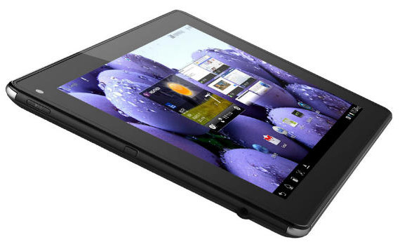 As shown, LG's Optimus Pad LTE