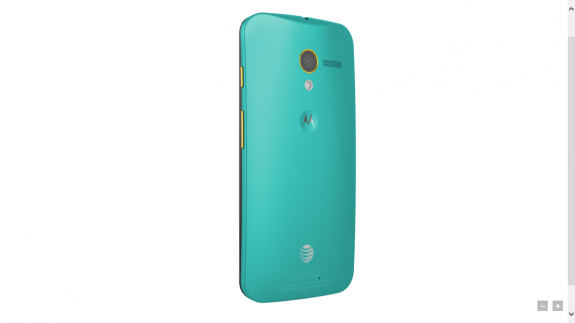 The color customizable Moto X.