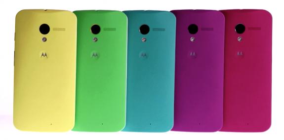 Moto X colors