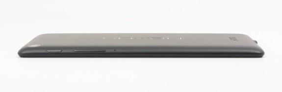 The new Nexus 7 is thinner.
