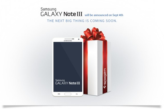 Spigen is ready for the Samsung Galaxy Note 3 release.