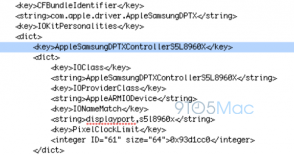 The iOS 7 beta contains code that hints at a Samsung manufactured Apple A7 processor in the iPhone 5S.
