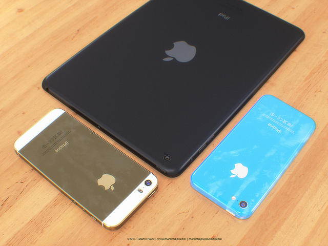 The iPhone 5S and iPhone 5C could replace the iPhone 5 this fall. Image via Martin Hajek.