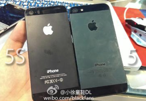 The iPhone 5S is expected to keep a design similar to the iPhone 5.