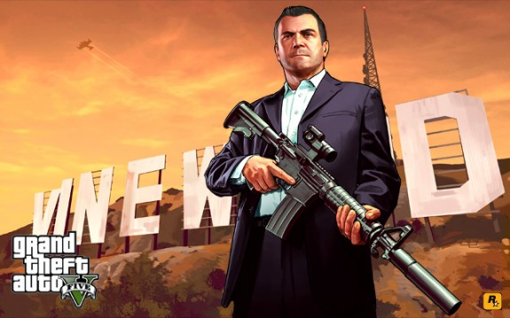 Code from a pirated GTA 5 game, allegedly shows a GTA 5 on PS4 reference.