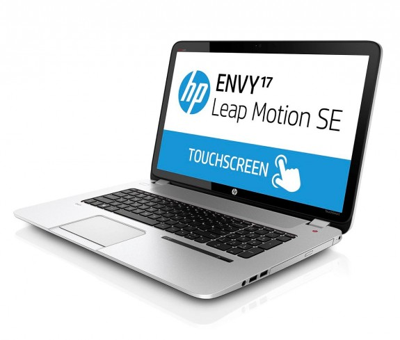 HP ENVY Leap Motion SE Notebook_leftfacing