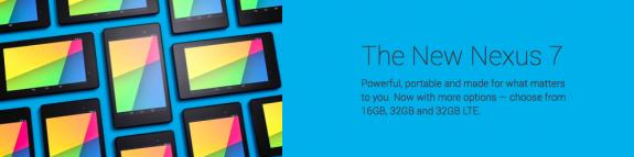 Google now offers three Nexus 7 variants.