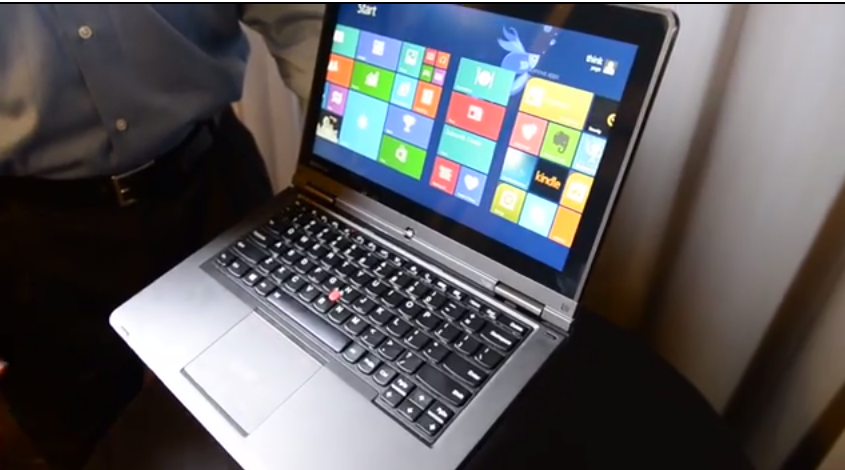 The new ThinkPad Yoga for business.