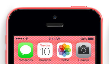 The iPhone 5c should deliver better iPhone battery life.
