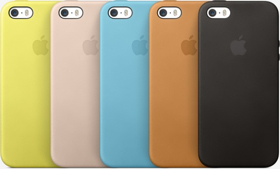 Apple sells official iPhone 5S cases.