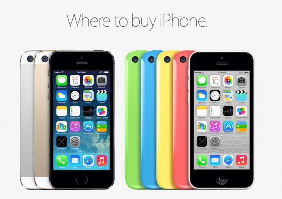 iPhone 5S release date iPhone 5C pre-orders