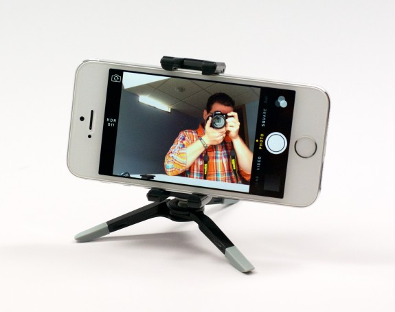 iPhone 5s Tripod Adapter and Holder
