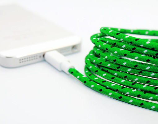 Braided Lightning Cable for Car & Travel