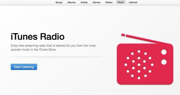 itunes radio in itunes 11.1