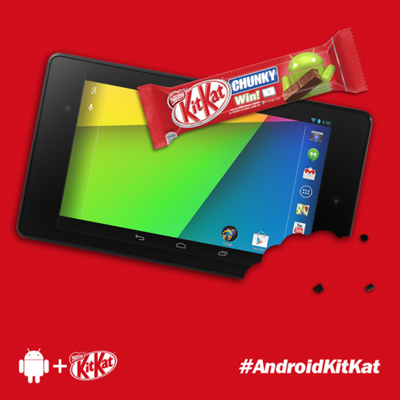 Android 4.4 KitKat will apparently be coming in October.