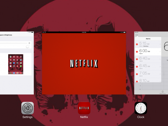 Netflix has been giving us issues in iOS 7.