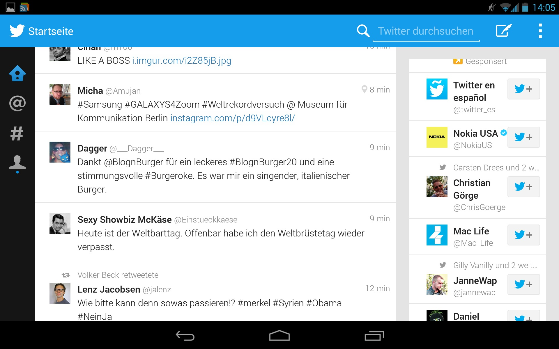 Twitter Android Tablet UI Leaks, APK Available Now