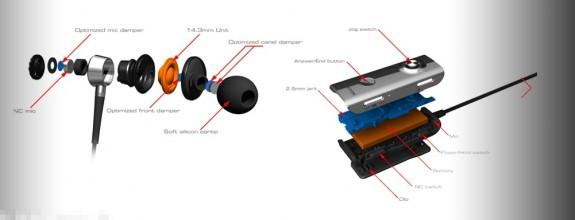 phiaton ps210 btnc earbuds hardware design