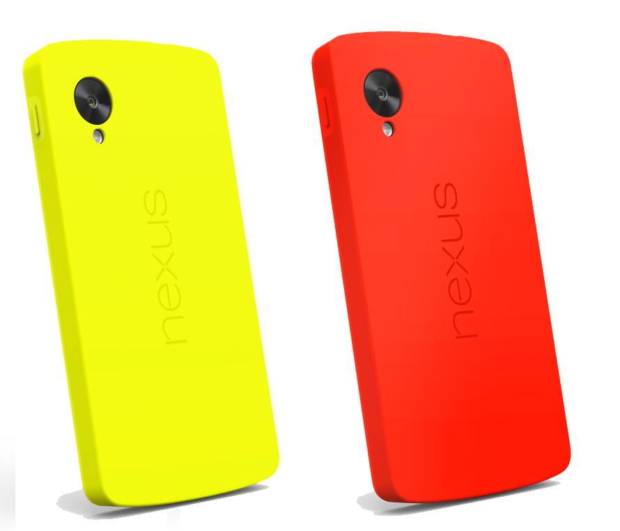 The Nexus 5 Bumper Case comes soon.