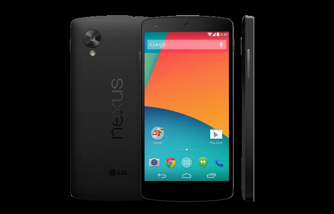 The Nexus 5 design should be much like the Nexus 7.