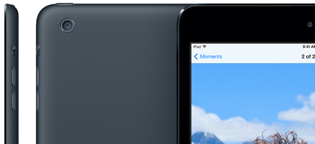 The iPad mini 2 and iPad 5 could feature an improved camera, like that found in the iPhone 5s.