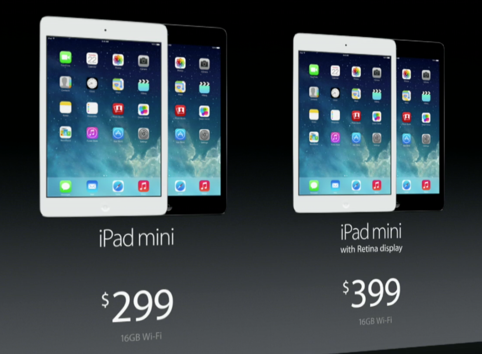 The iPad mini price is cheaper, and Apple is offering a refund.