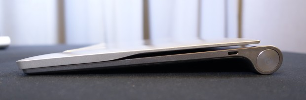 The large battery is there to offer a place to hold the Yoga Tablet.