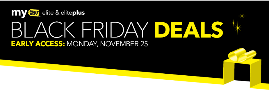 Online Best Buy Black Friday 2013 sales are live for Elite and Elite Plus members.