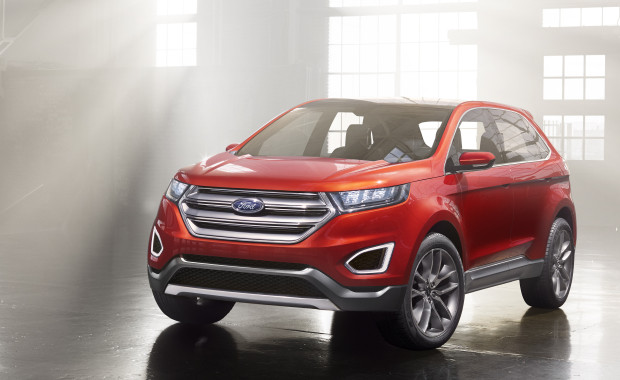The Ford Edge Concept shows what a new Ford Edge or Lincoln MKC might look like.
