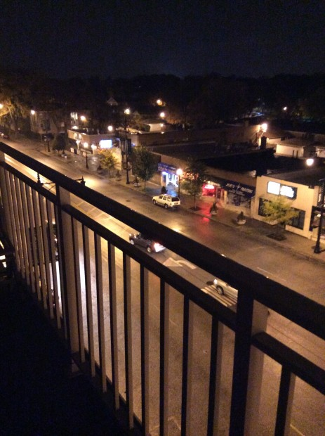 iPad Air Night Street with Rear Camera