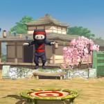 clumsy ninja trampoline