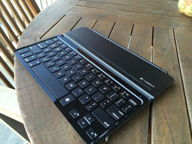 The Logitech Ultrathin Keyboard Cover