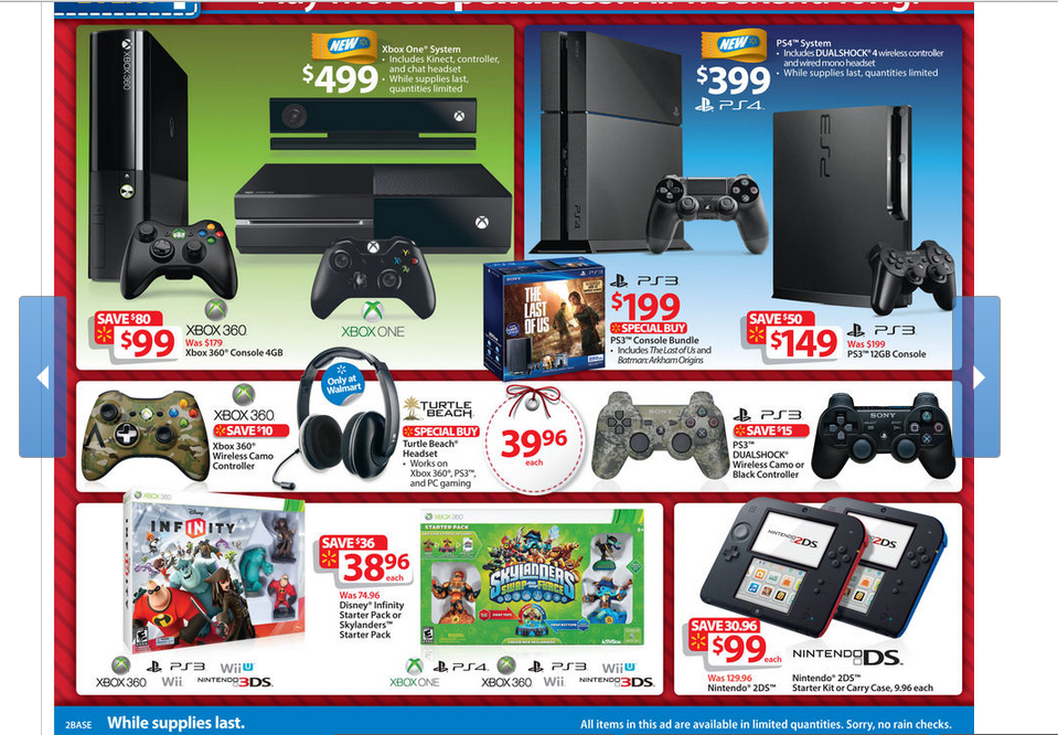 Where To Find The Ps4 And Xbox One On Black Friday