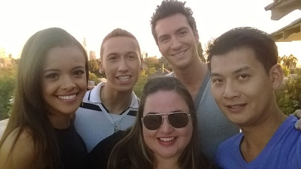 The more wide-angle front-facing camera on the Lumia 1020 means that you can fit more people into a group selfie. Here, five people are able to squeeze comfortably into this shot.