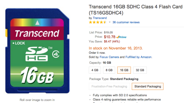 SD card deals aren't worth buying on Black Friday at Walmart.