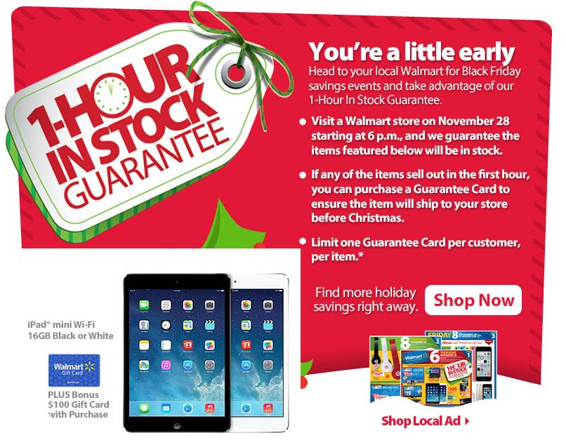 Walmart Black Friday 2013 Ad Brings Ipad Mini Deal You Can T Miss