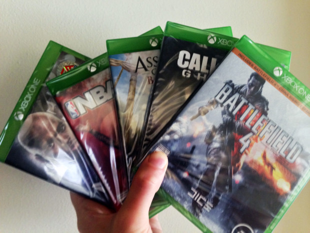 There are many Xbox One games, but ultimately you are buying the console for games today and in the years to come.