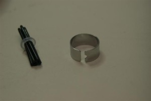 The Toshiba M200 Tablet PC metal ring with nibs