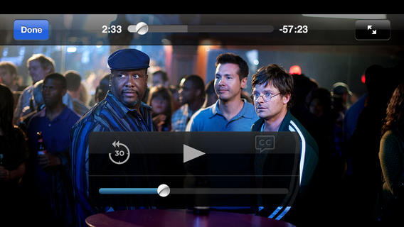 Watch HBO on the iPhone.