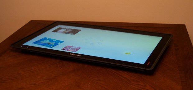 The Horizon as a table pc, which is essentially a 27-inch Tablet.