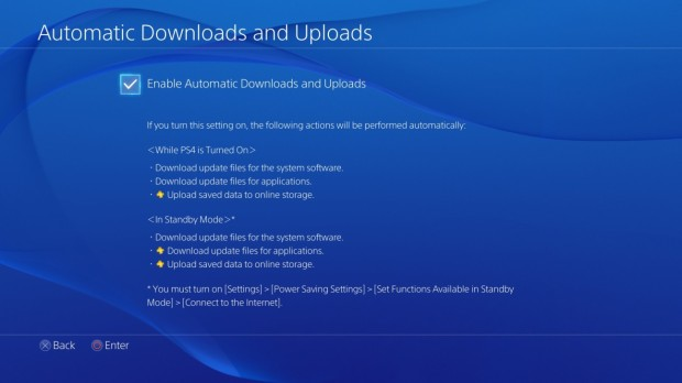 Automatic downloads simplifies the update process.