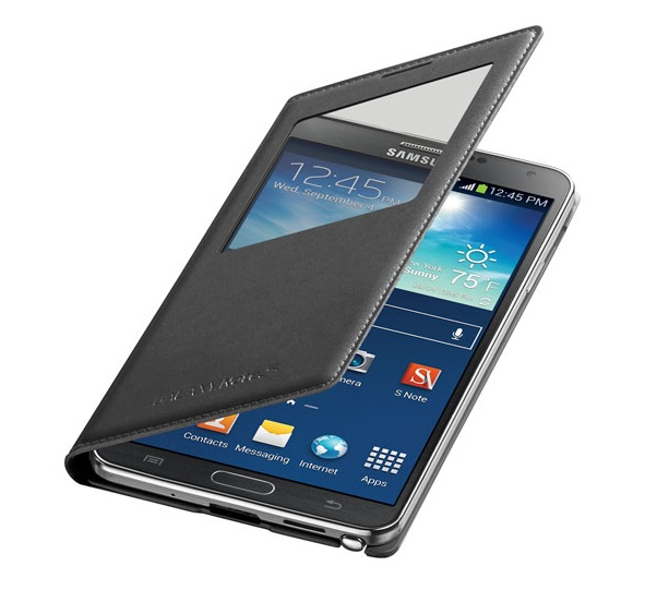 The Samsung Galaxy Note 3 S View Flip Cover with wireless charging is $70, but combines two popular Note 3 features.